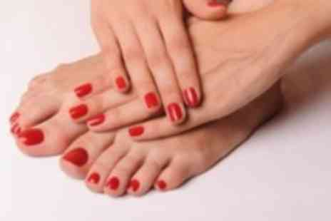 Alison Walker Health & Beauty - Shellac manicure and pedicure - Save 50%