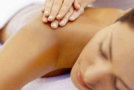 Addiction Beauty Salon - Back, Neck and Shoulder Massage with Luxury Manicure for One - Save 56%