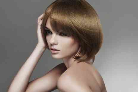 House Of Hair - Cut and Blow Dry With Half Head Highlights - Save 48%