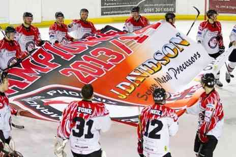 Manchester Phoenix Ice Hockey Club -  Ticket  to Ice Hockey - Save 40%