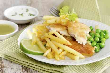 Wilsons Fish and Chips - Cod and Chips For Two  - Save 43%