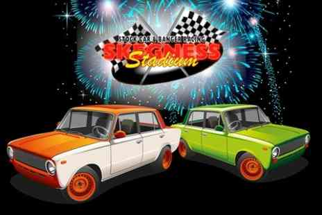 Skegness Stadium - Entry For Two at Stock Car Racing and Fireworks Display:  - Save 37%