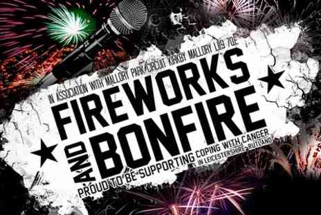 Real Motorsport - Family Ticket to Bonfire Night With Fireworks and Funfair  - Save 20%