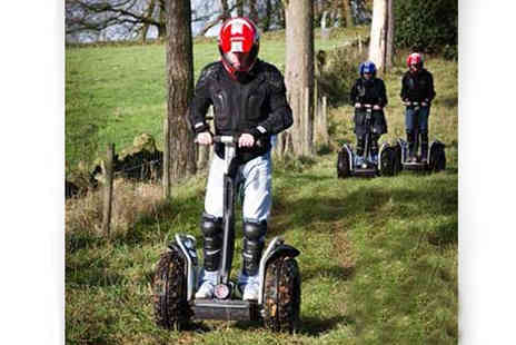 intotheblue - Weekend Segway Safari for 2 near Manchester - Save 20%