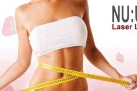 NU:U Laser Lipo - Three Sessions of Stawberry Laser Lipo - Save 78%