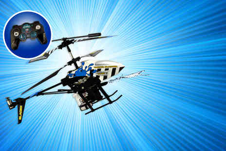 Bladez Toyz - Water Blaster or Missile Launcher remote control helicopter - Save 53%