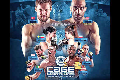 Cage Warriors - Far Balcony Ticket to Cage Warriors Fighting Championship 74 - Save 8%