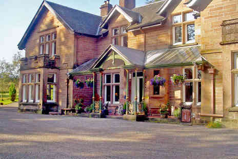 Ledgowan Lodge Hotel - Two Night Scottish Highlands Retreat for Two with Champagne in Room, Breakfast - Save 60%
