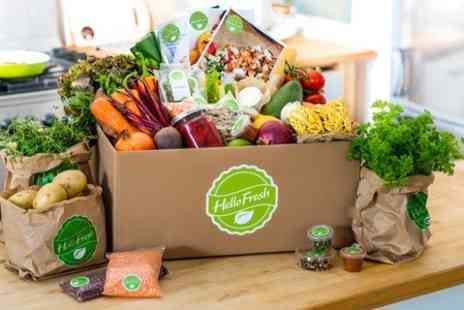 HelloFresh - £45 Gift Voucher for Hello Fresh Meal Delivery Subscription  - Save 67%