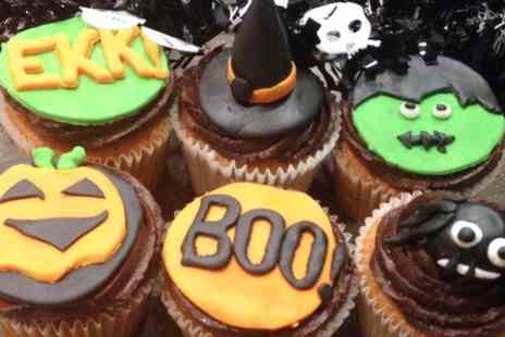 New York Cakes - Box of Halloween Cupcakes - Save 65%