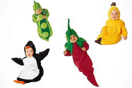 Online Gift Store - Baby Costume in Four Designs - Save 50%