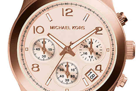 Sydney Trading - Michael Kors  Womens Rose Gold Plated Watch - Save 46%