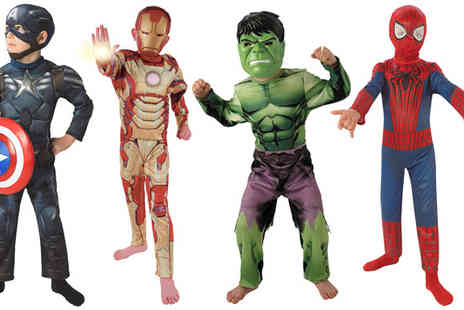 Mega Fancy Dress - Choice of Childrens Superhero Costumes - Save 47%