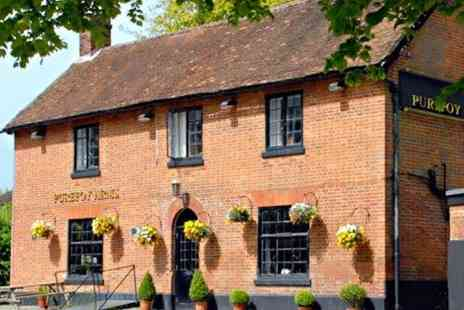 Purefoy Arms - Three Course Dinner for two - Save 52%