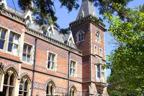 Brownsover Hall Hotel - Gothic Mansion Stay for Two in Rugby with Dining Options - Save 40%