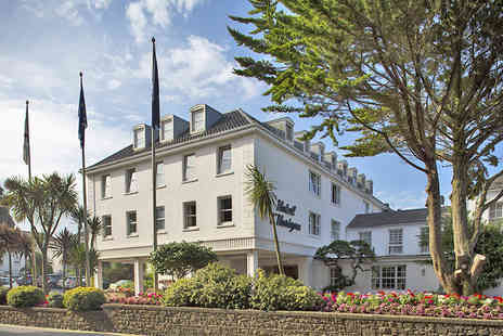 LHorizon Beach Hotel - Three Night Stay in Jersey with Dinner and Wine - Save 30%