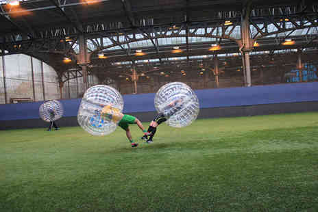 Bubble Soccer - One hour game of bubble soccer for up to 16 people  - Save 53%