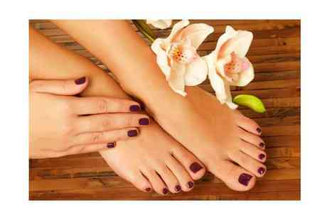 Pure Hair & Beauty Manchester - Gel nail overlays on your fingers or toes - Save 60%