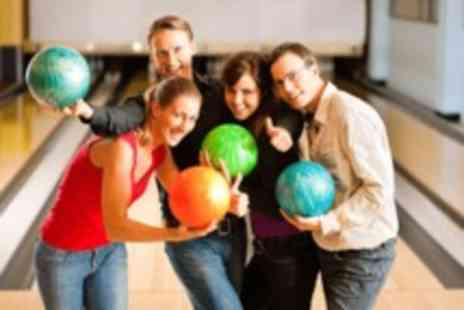 PSL Bowling - Two games of ten pin bowling for four people, with nachos each - Save 71%