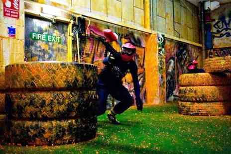 Urban Paintball Edinburgh - Indoor paintballing and 100 paintballs each for Two - Save 92%