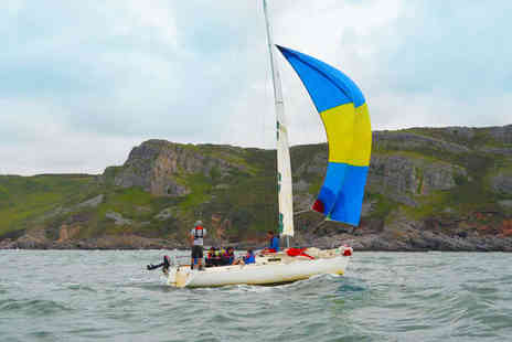 Swansea Watersports - One Day Keel Boat Experience - Save 54%