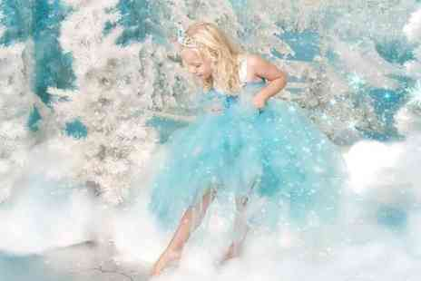 Eileen Mason - Ice Princess Fantasy Photoshoot Photoshoot With Photo Mug and Three Keyrings - Save 50%