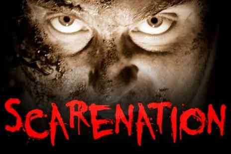 Scarenation - Entry to Scarenation Factory of Fear Outbreak  - Save 55%