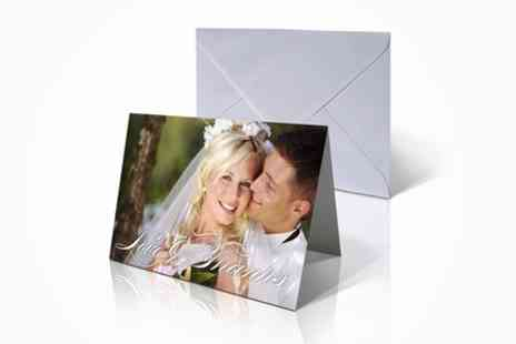 Mini Box - 20 Personalised Greeting Cards - Save 64%