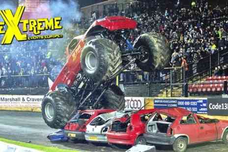 The Extreme Stunt Show - Extreme Stunt Show With Brochure For One - Save 47%