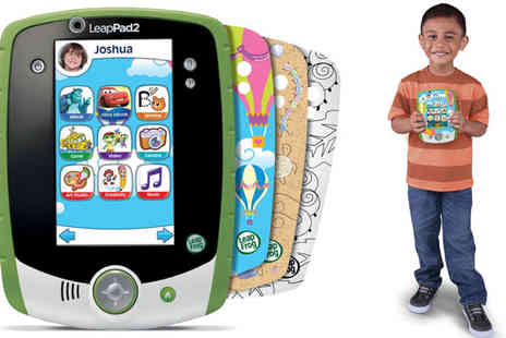 Click For Games - Green LeapFrog LeapPad2 Custom Edition - Save 40%
