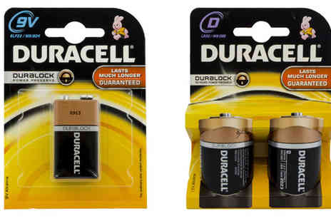 Battery Warehouse - Duracell Family Pack of 30 Batteries  - Save 42%