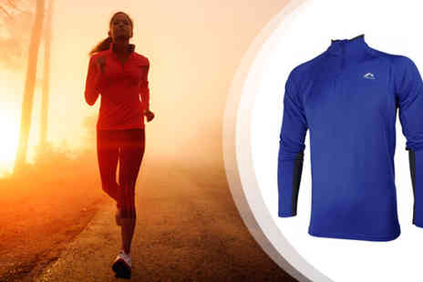 Active Human - More Mile Mens Phoenix Sports Fitness Top - Save 45%