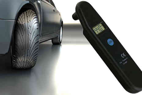 E accessories - Digital Tyre Pressure Gauge - Save 54%