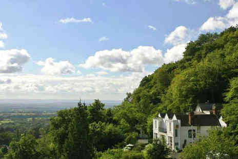 The Cottage in the Wood Hotel - Overnight Malvern Hotel Break for Two with Three Course Dinner and Breakfast - Save 51%