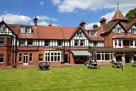 Forest Park Hotel - Two Night Stay for Two  with Breakfast, a Bottle of Wine If Dining, and Late Checkout - Save 56%