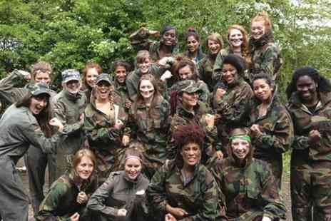 Conflict Paintball - Paintball With Lunch and 100 Balls Each - Save 75%