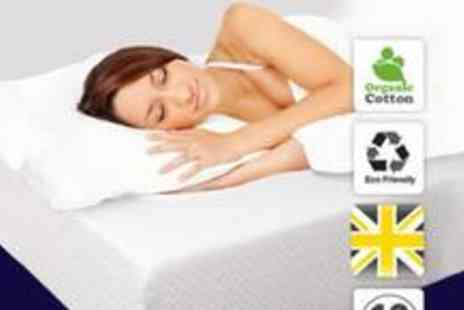 Soft Sleep - Soft Sleep Supreme 250 memory foam mattress in single, double or king, plus two pillows - Save 71%