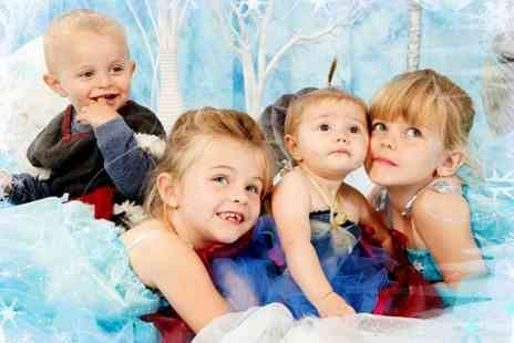 Hammonds Photography Studio - Ice Princess or Family Christmas Photoshoot - Save 50%