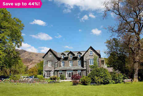 Waterhead Hotel - A Historic Hotel on the Shores of Coniston Water - Save 44%