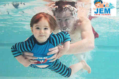 JEM Swimming - Seven Weeks of Child's Swimming Lessons - Save 50%