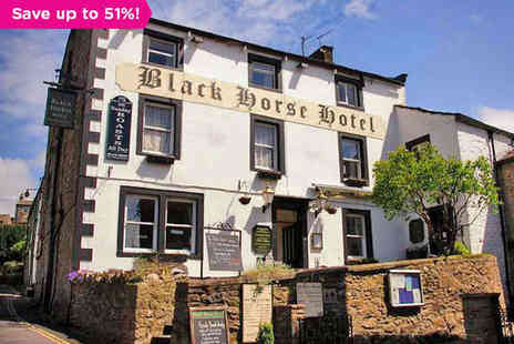 The Black Horse Hotel - One night stay for two in Yorkshire - Save 51%