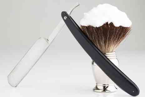 Master Barbers - Cut Finish and Hot Towel Shave - Save 79%