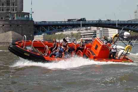 Rib Tours - 50 Minute Thames Sightseeing Boat Tour - Save 14%