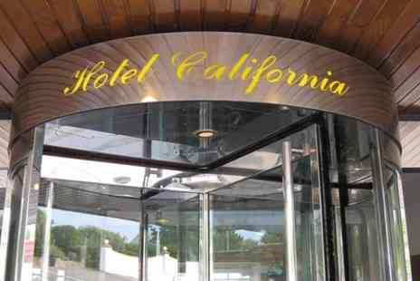 Hotel California - One Night Stay For Two With Three Course Dinner - Save 52%