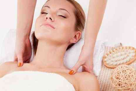 Love Hair and Beauty - Swedish back neck and shoulder massage and a facial - Save 77%