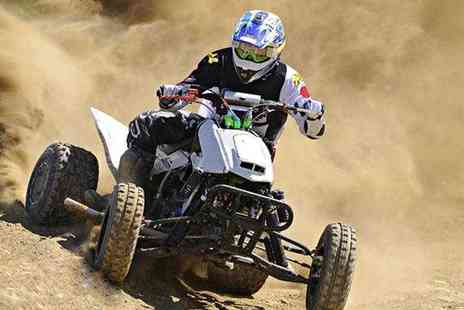 KJB Quadcross -  60 min quad biking experience - Save 67%