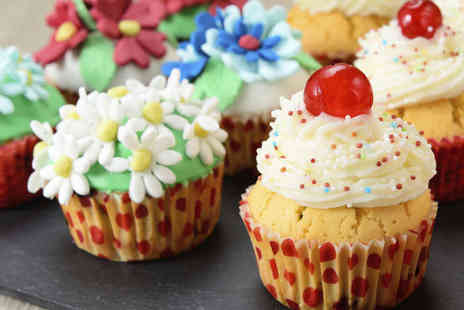 Teach Me Sugarcraft - Cupcake Decorating Class for One - Save 71%