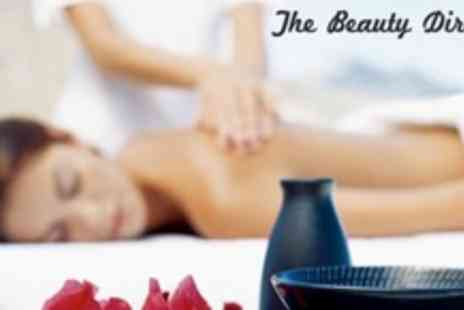 The Beauty Directors - Full Body Massage and Mini Facial - Save 61%