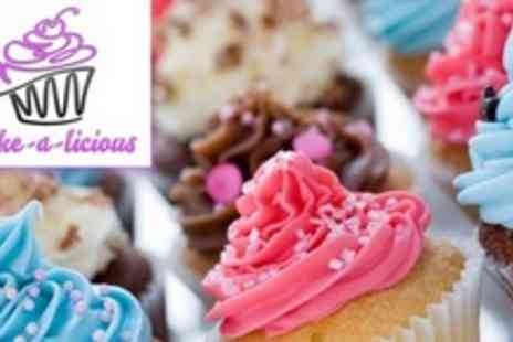 Cake a licious - Cupcake Decorating Class With Homemade Snack and Six Cupcakes - Save 63%
