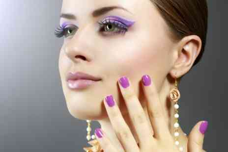 Bobby Dazzlers Nails and Beauty - Manicure or Pedicure Plus Facial or Massage - Save 50%